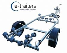 PROLINE 500kg Roller Boat Trailer- 14ft Jet skis & Boats 4.8m Ribs 16' Dinghy
